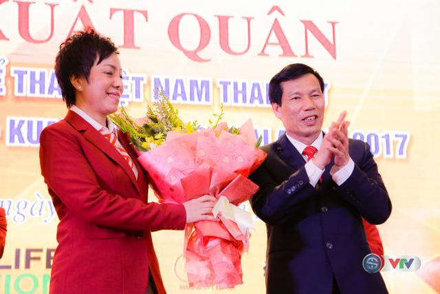 Lễ xuất quân Đoàn Thể thao Việt Nam tham dự SEA Games 29 - Ảnh 4.