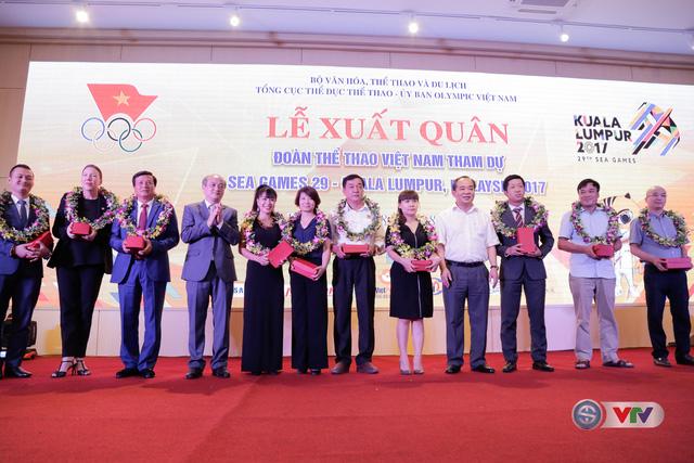 Lễ xuất quân Đoàn Thể thao Việt Nam tham dự SEA Games 29 - Ảnh 6.