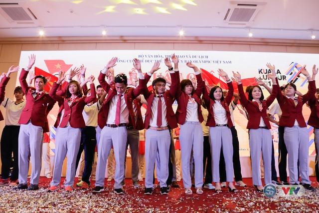 Lễ xuất quân Đoàn Thể thao Việt Nam tham dự SEA Games 29 - Ảnh 8.