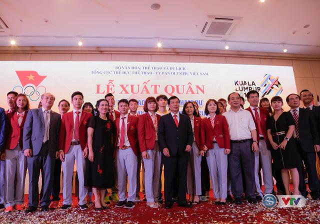 Lễ xuất quân Đoàn Thể thao Việt Nam tham dự SEA Games 29 - Ảnh 7.