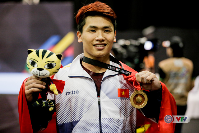 Trịnh Văn Vinh phá kỷ lục SEA Games 29: Lấy thành tích của đối thủ làm động lực cho bản thân - Ảnh 4.