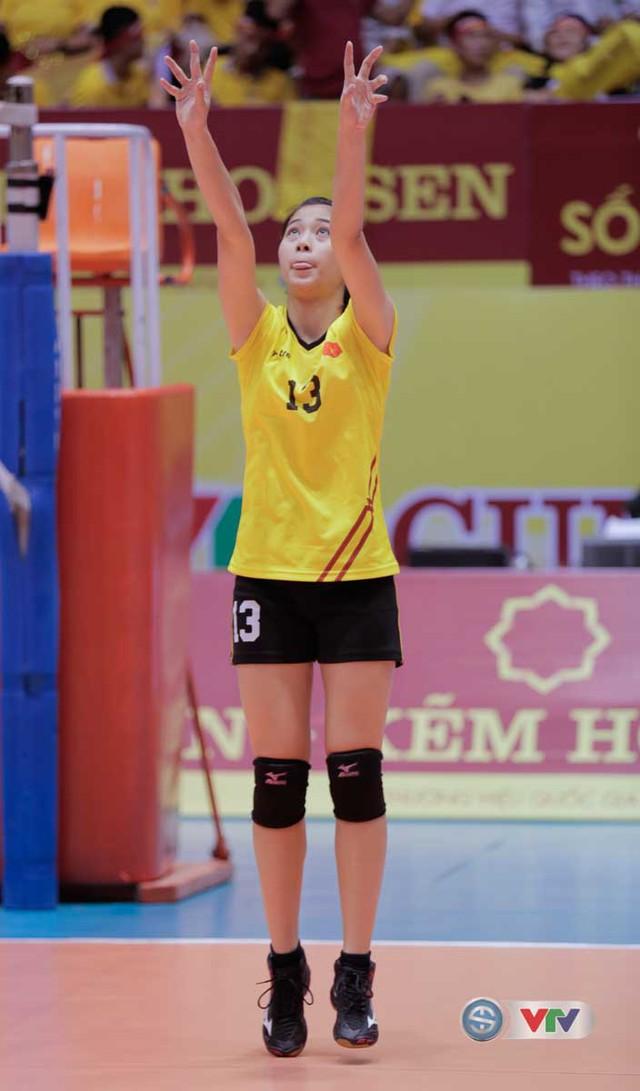 Vẻ đẹp gây sốt của chân dài 15 tuổi ở Giải bóng chuyền nữ Quốc tế VTV Cup Tôn Hoa Sen 2017 - Ảnh 6.