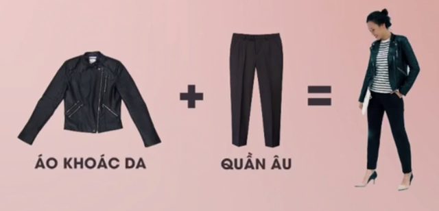 Bật mí cách biến hóa đa phong cách với áo khoác da - Ảnh 1.