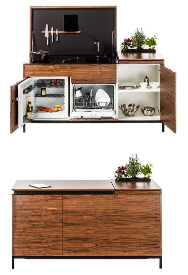 Những gian bếp đóng hộp hiện đại bà nội trợ nào cũng ước ao - Ảnh 3.