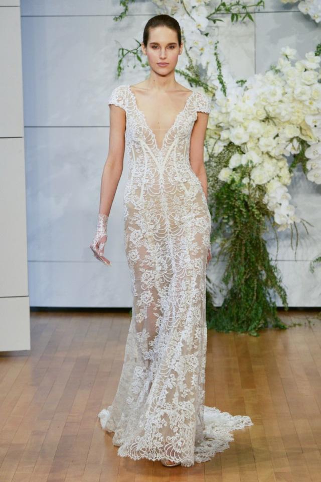 Mê mẩn những mẫu váy cưới vừa đơn giản, vừa sang chảnh - Ảnh 10.