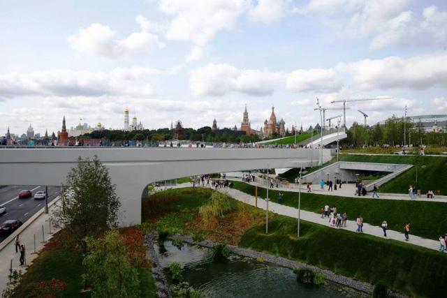 Nga khánh thành công viên 10ha độc đáo ở Moscow - ảnh 4