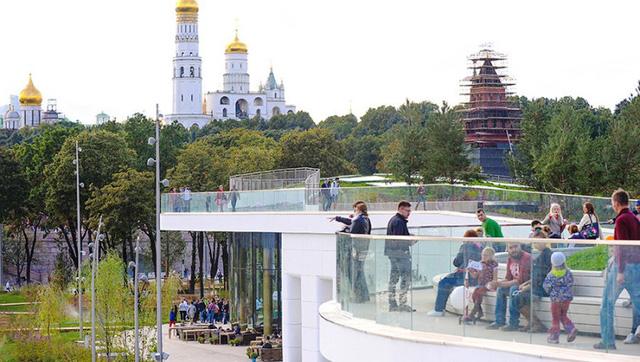 Nga khánh thành công viên 10ha độc đáo ở Moscow - ảnh 2