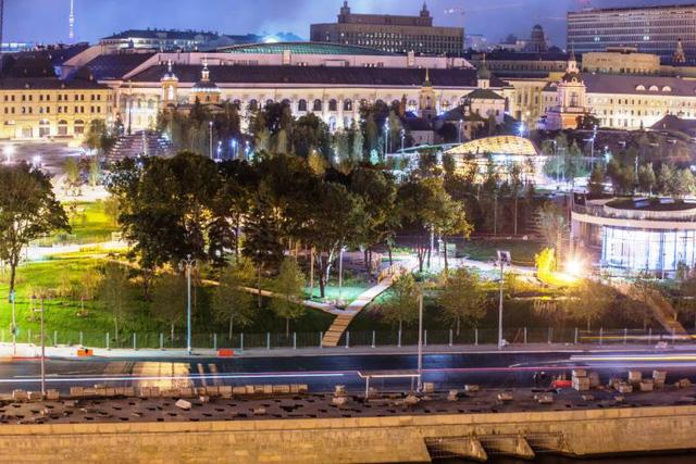 Nga khánh thành công viên 10ha độc đáo ở Moscow - ảnh 1