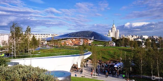 Nga khánh thành công viên 10ha độc đáo ở Moscow - ảnh 5