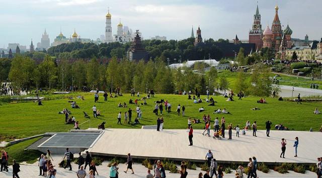 Nga khánh thành công viên 10ha độc đáo ở Moscow - ảnh 3