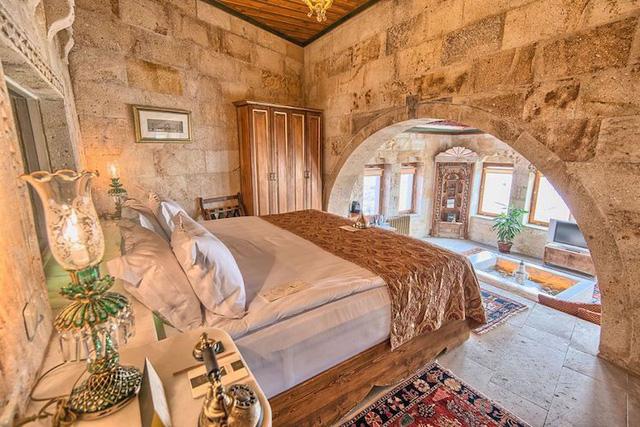 Những khách sạn hang đá độc đáo ở Thổ Nhĩ Kỳ - Ảnh 11.