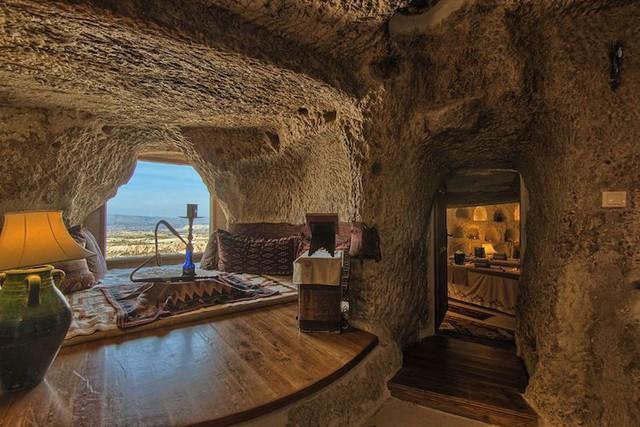 Những khách sạn hang đá độc đáo ở Thổ Nhĩ Kỳ - Ảnh 14.