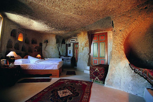 Những khách sạn hang đá độc đáo ở Thổ Nhĩ Kỳ - Ảnh 12.