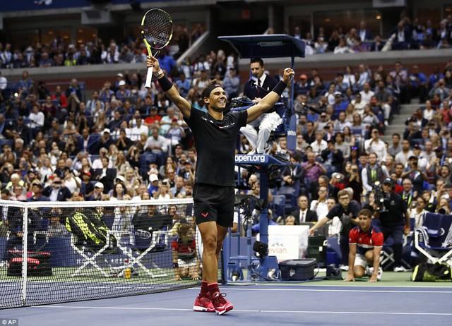 Rafael Nadal lên ngôi tại giải quần vợt Mỹ mở rộng 2017 - Ảnh 3.