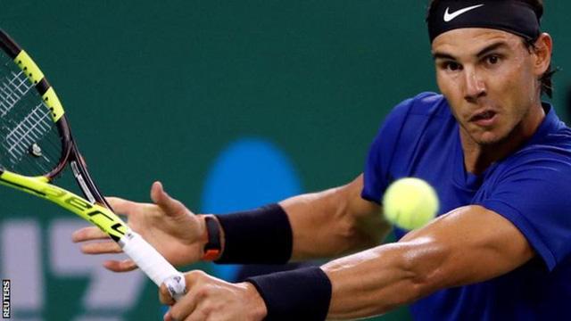 Vượt qua Fognini, Nadal thẳng tiến vào tứ kết Thượng Hải Masters 2017 - Ảnh 1.