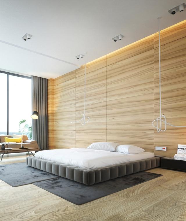 Những gợi ý cho phòng ngủ vừa sang trọng vừa hiện đại với nội thất bằng gỗ - Ảnh 20.