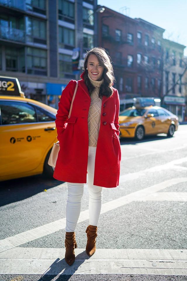 Gam màu đỏ nổi bật cho trang phục ngày Tết - Ảnh 8.
