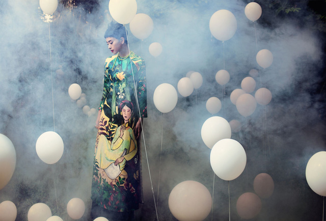 NTK Thủy Nguyễn mộng mị trên sàn catwalk Tuần lễ thời trang quốc tế Việt Nam Xuân - Hè 2017 - Ảnh 1.