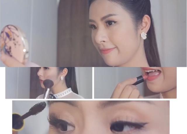 Hoa hậu Ngọc Hân khoe căn hộ đậm chất truyền thống - Ảnh 2.