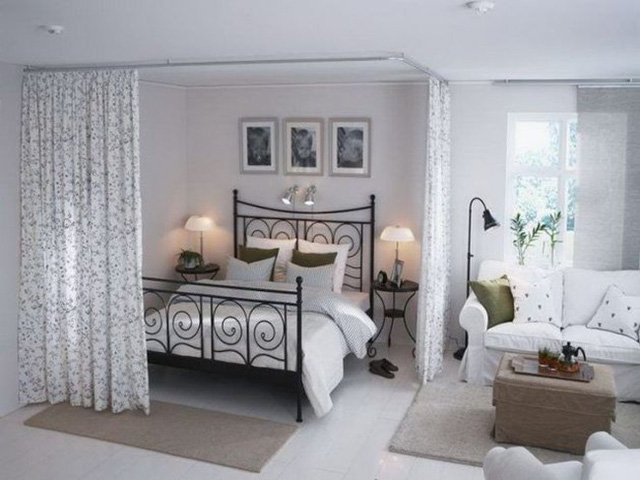 Phòng khách kiêm phòng ngủ vừa ấn tượng vừa tiết kiệm diện tích - Ảnh 7.