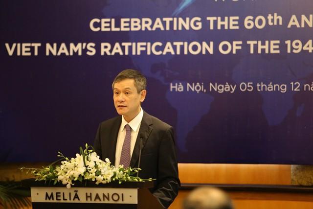 Việt Nam đóng vai trò quan trọng thúc đẩy tôn trọng luật nhân đạo quốc tế - Ảnh 1.
