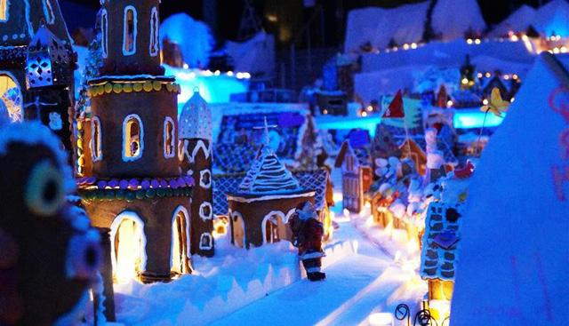 Khám phá thành phố bánh quy Giáng sinh lớn nhất thế giới - ảnh 3