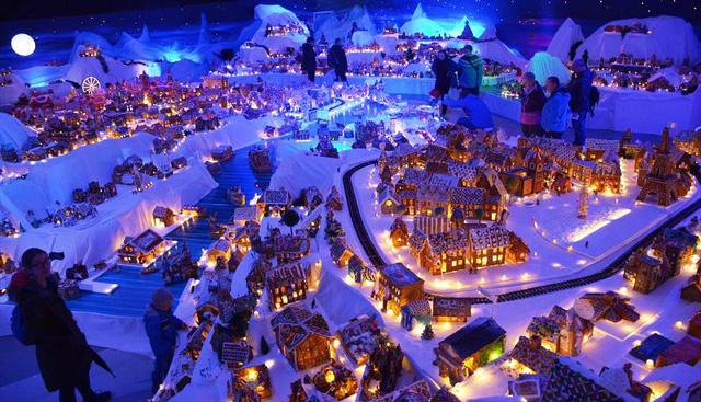 Khám phá thành phố bánh quy Giáng sinh lớn nhất thế giới - ảnh 7