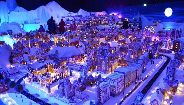 Khám phá thành phố bánh quy Giáng sinh lớn nhất thế giới - ảnh 4