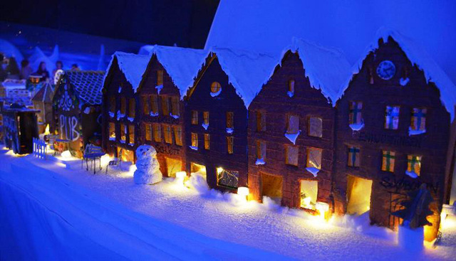 Khám phá thành phố bánh quy Giáng sinh lớn nhất thế giới - ảnh 5