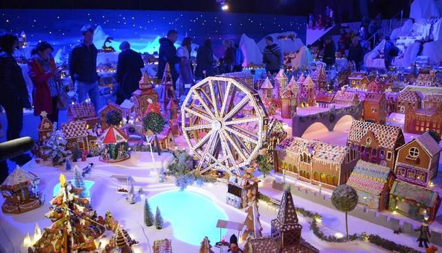 Khám phá thành phố bánh quy Giáng sinh lớn nhất thế giới - ảnh 6