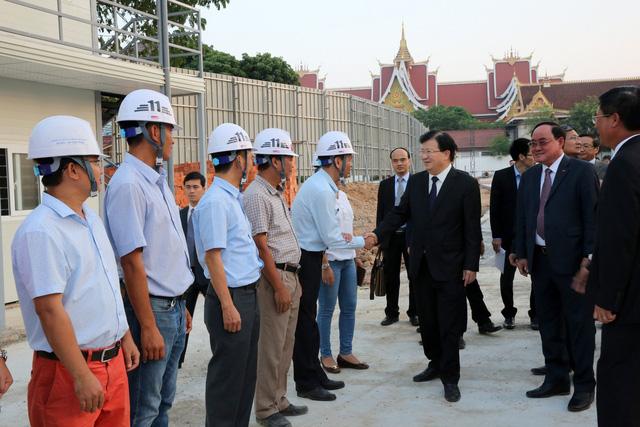PTTg Trịnh Đình Dũng sẽ dự Lễ động thổ Dự án Nhà Quốc hội Lào - Ảnh 6.