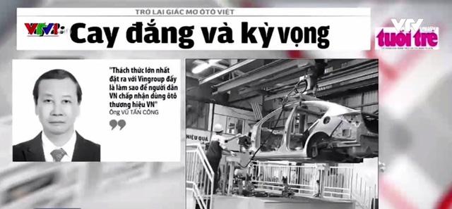 Giấc mơ ô tô Việt: Nhiều thách thức nhưng vẫn kỳ vọng - Ảnh 1.