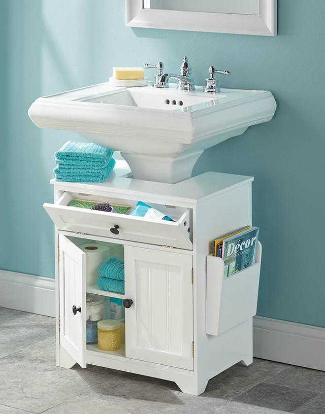 Những vật dụng giúp tiết kiệm không gian trong phòng tắm nhỏ - Ảnh 16.