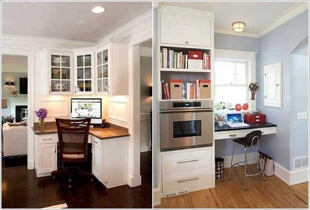 Cách tận dụng không gian để có một phòng làm việc nhỏ - Ảnh 3.