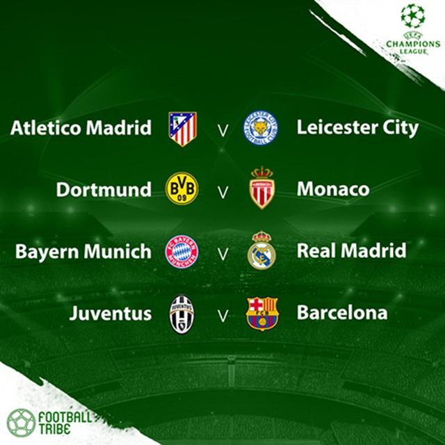Vòng tứ kết Champions League và Europa League sẽ được tường thuật trực tiếp trên VTVcab - Ảnh 1.