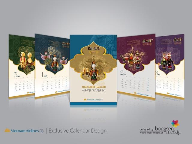 Dấu ấn tinh hoa văn hóa Việt trong thiết kế lịch  - Ảnh 1.