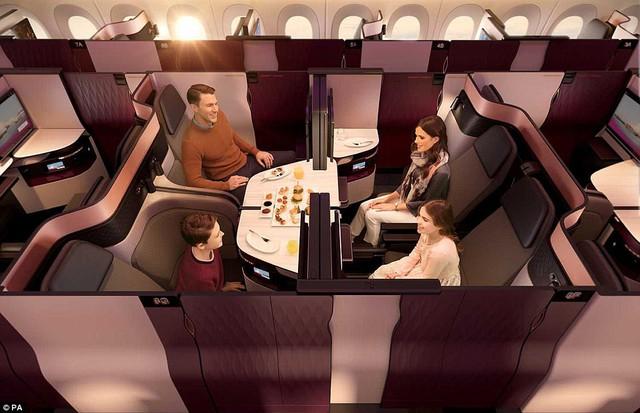 Hãng hàng không đầu tiên có giường đôi ở khoang thương gia - Ảnh 3.
