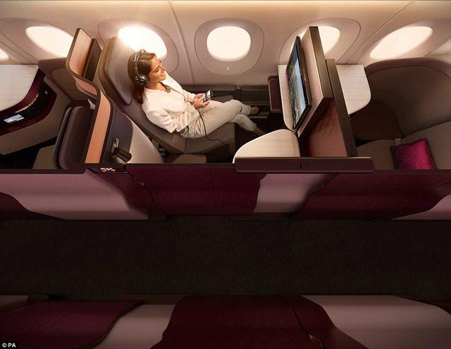 Hãng hàng không đầu tiên có giường đôi ở khoang thương gia - Ảnh 4.