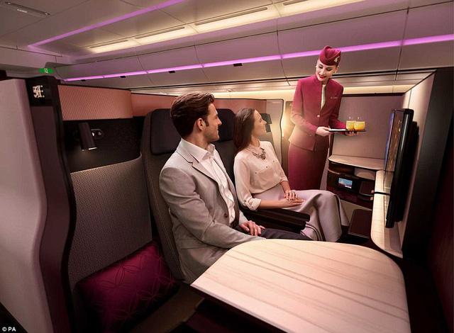 Hãng hàng không đầu tiên có giường đôi ở khoang thương gia - Ảnh 5.