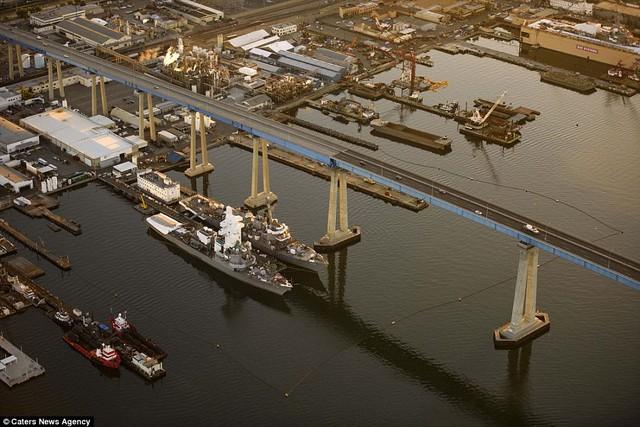 Những cây cầu đẹp nhất thế giới nhìn từ trên cao - Ảnh 13.