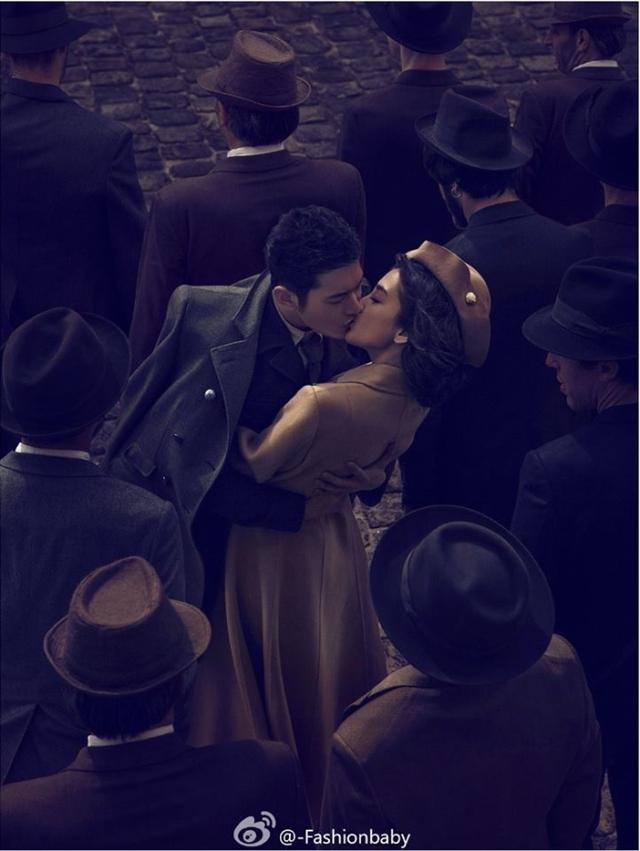 Ảnh cưới nóng bỏng giờ mới công bố của Angelababy và Huỳnh Hiểu Minh - Ảnh 3.