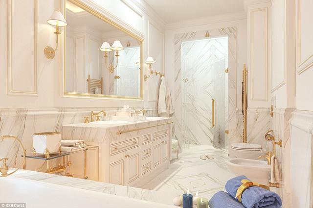 Bồn tắm triệu đô của giới nhà giàu ở Dubai - Ảnh 6.