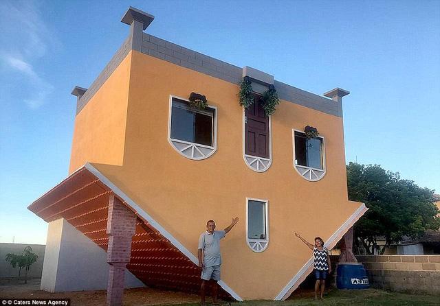 Nhũng ngôi nhà lộn ngược nổi tiếng thế giới - Ảnh 3.