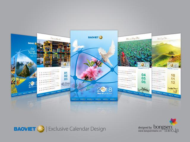 Dấu ấn tinh hoa văn hóa Việt trong thiết kế lịch  - Ảnh 3.
