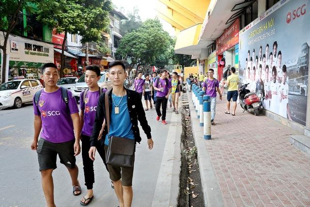 CLB Hà Nội chào đón người hâm mộ trở lại sân Hàng Đẫy với diện mạo hoàn toàn mới - Ảnh 3.