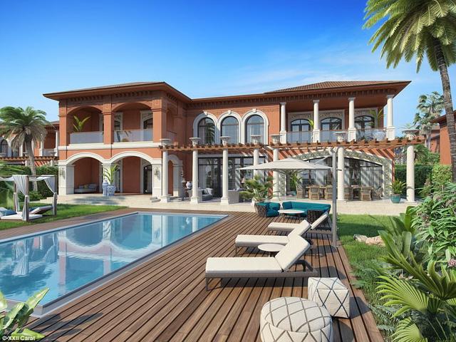 Bồn tắm triệu đô của giới nhà giàu ở Dubai - Ảnh 7.