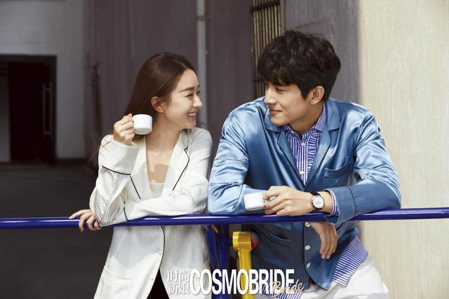 Ảnh cưới ngọt ngào của Triệu Lệ Dĩnh và người tình màn ảnh trên tạp chí - Ảnh 5.