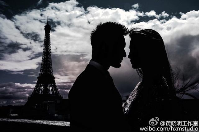 Ảnh cưới nóng bỏng giờ mới công bố của Angelababy và Huỳnh Hiểu Minh - Ảnh 9.