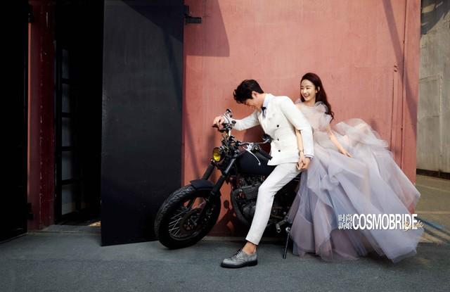 Ảnh cưới ngọt ngào của Triệu Lệ Dĩnh và người tình màn ảnh trên tạp chí - Ảnh 7.