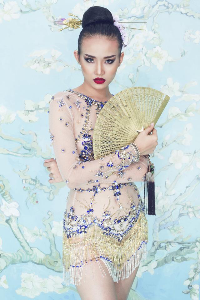 Lan Khuê và học trò nổi bật với phong cách Á Đông - Ảnh 7.